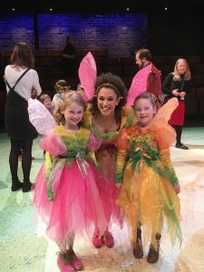 Evie (left) and Lori Jo (right) looking absolutely gorgeous as fairies.