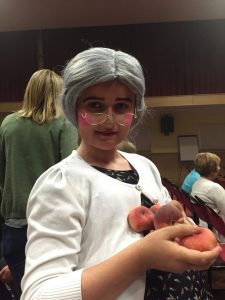 Oliver as Aunt Sponge