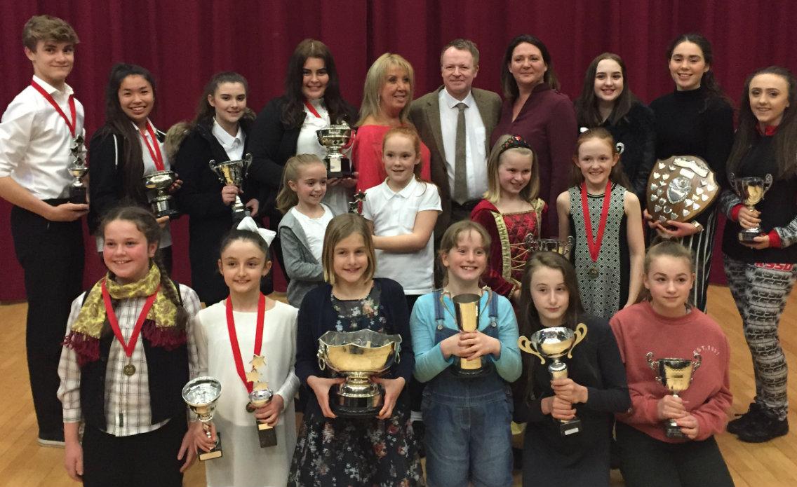 2017 Trophy Winners & adjudicators - well done to all!